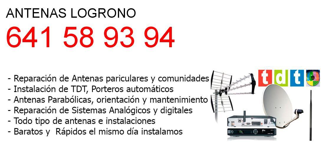 Empresa de Antenas logrono y todo La Rioja