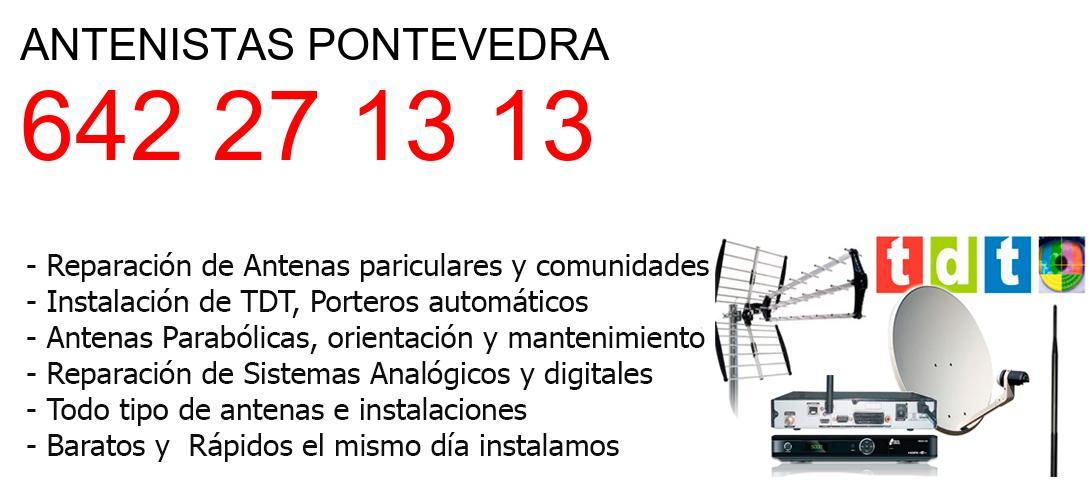 Antenistas pontevedra y  Pontevedra